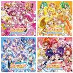 歴代プリキュアの色別にまとめたボーカルアルバムが発売!