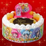 プリキュアのクリスマスケーキでクリスマスを祝おう!