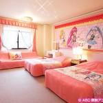 池の平ホテルに『Go!プリンセスプリキュア』のプリキュアルーム登場!