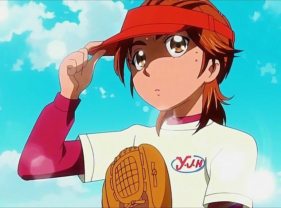 日向咲 ソフトボール