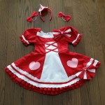 キュアミラクル・ルビースタイルの衣装の作り方(手作り)